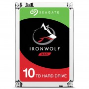 "Seagate IronWolf ST10000VN0004 - Disco rígido - 10 TB - interna - 3.5"" - SATA 6Gb/s - 7200 rpm - buffer: 256 MB"