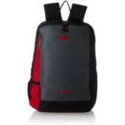 Wiki by Wildcraft Streak 2_Red Backpacks 19 L Backpack(Black)