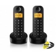Philips d1202b/53 fiksni telefon