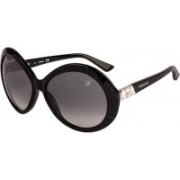 SWAROVSKI Oval Sunglasses(Grey)