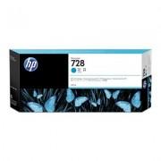 HP Cartuccia inchiostro ciano DesignJet 728, 300 ml
