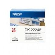 BROTHER NASTRO ADES IN CARTA NERO/BIANCO PER QL1100/1110