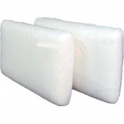 Almohada Inteligente Haussman Memoria Viscoelástica 40x70cm-Blanco