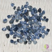 Safir albastru brut 4-8mm - 50g