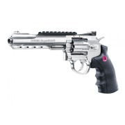 Pistol Airsoft CO2 Umarex Ruger SuperHawk 6 Silver 6mm 8BB