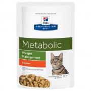Hill's Prescription Diet Metabolic Weight Management umido per gatti - Buste - 12 x 85 g