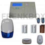 Allarme GSM antifurto Defender ST-6, 3 Sensori magnetici, Pir, Tendina, Sirena