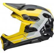 Bell Super DH Mips Downhill Casco Negro Amarillo S