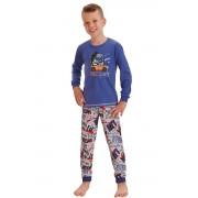Pijama băieți Milos street albastră 98