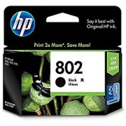 HP 802 Black Ink Cartridge (HP Part Code CH563ZZ)