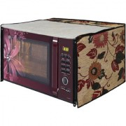 Glassiano Microwave Oven Cover for Kenstar 17 Litre Solo Microwave Oven KM20SWWN White