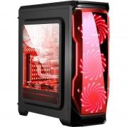 Carcasa Segotep Halo Black Red