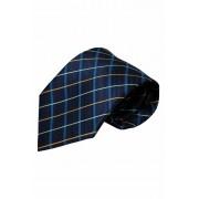 Vincelli Alberto Blauwe stropdas Ilsi 01 - blauw