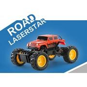 1/18 Off Roader Laserstar 4 X4 Rock Crawler Radio Control Truck Rc Red
