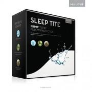 MALOUF Protector de colchón hipoalergénico 100% Resistente al Agua, 15 años de garantía, Blanco, Set Protector de Almohadas estándar, 1