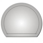 Zrcadlo ZT-D0312 85x70cm půlkulaté s poličkou