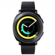Смарт часовнек SM-R600 GALAXY Gear Sport, Черен, SM-R600NZKABGL
