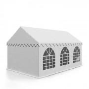 Sommerfest 3x6m 500 g/m² Tendone da Festa PVC Impermeabile Bianco
