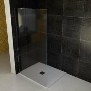 Polysan Boční zástěna ke sprchovým dveřím 95,5x200 cm levá Polysan VITRA chrom lesklý BN6115L