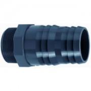 """Express PVC slangtule met buitendraad - 1 1/2"""" x 50 - 52 mm"""