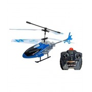 RUHAN ENTERPRISE Kid's Velocity Control Flying Helicopter with Remote Controller and Unbreakable Blades Infrared Sensor