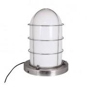 Strömshaga Skeppslampa Vit/Silver Stor