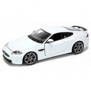 Bburago Speelgoedauto Jaguar XKR-S wit 1:24 Wit