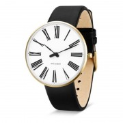 Arne Jacobsen Clocks Armbandsur Roman Vit/guld/svart 40 mm Arne Jacobsen Clocks