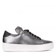 Michael Kors Sneaker Michael Kors Mindy in pelle metallizzata grigia