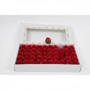 Trandafiri De Sapun 50/set Rosu