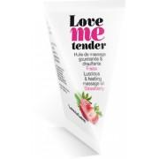 Olio da massaggio edibile Love to Love Love Me Tender - Fragola 10ml