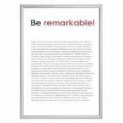 Rama click Premium format A2 din aluminiu pentru expunere postere afise reclame