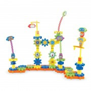 Set de constructie Gears Fabrica de Robotei Learning Resources, 79 piese, 4 - 8 ani