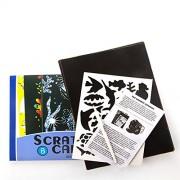 Scratch Cards Kids with 8 Scratch-Art Boards (Underwater World)