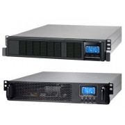 Mecer 6000VA / 4800W ON-LINE UPS Rack Mount 6U