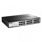 D-Link 24 1000BaseT Gigabit Desktop Switch, DGS-1024D/E DGS-1024D/E