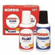 Fluid Corector cu Solvent Set 2 x 20ml Kores