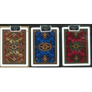 Bicycle Dragon Back Playing Cards 3 Deck Set 1 Gold 1 Blue 1 Red Deck Toy Kids Play Children