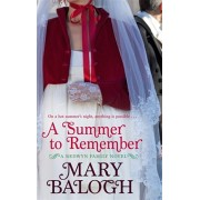 Summer To Remember. Number 2 in series, Paperback/Mary Balogh