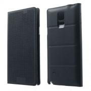 Dot View калъф за Samsung Galaxy Note 4 N910 - черен