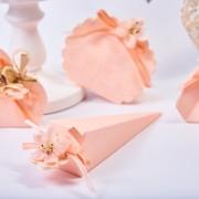 Mărturie cutiuță botez cu ursuleț roz-Cofanetto