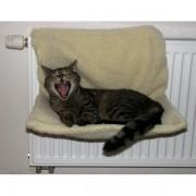 Radiatormand voor kat