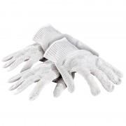 AGT 2 Paar Nylon-Stahl-Handschuhe mit Schnittschutz