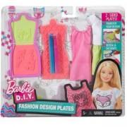 Детски игрален комплект Барби за дизайн на дрехи, 2 налични модела, Barbie, 1710037