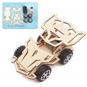 DIY vierwielaandrijving Racing Kinder educatief speelgoed