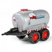 Prikolica Rolly Toys cisterna siva