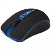 Myš Canyon CNS-CMSW6BL, Wireless, optická, USB, 1000/1600 dpi, Power Saving, modro-čierna