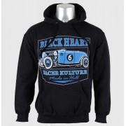 kapucnis pulóver férfi - Roadster - BLACK HEART -