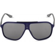 Carrera Retro Square Sunglasses(Black)