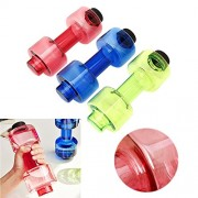 Inovera 500ml Dumbbells Water Bottle Sport Fitness Gym Exercise Water Bottle,Assorted Colour